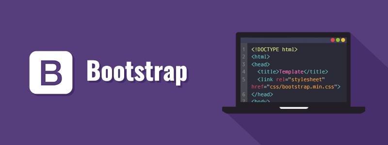 bootstrap front end webdesign framework